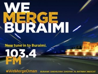 Merge now in Buraimi on 103.4 FM