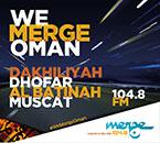 Merge FM now in Dhofar and Dakhiliyah on 104.8