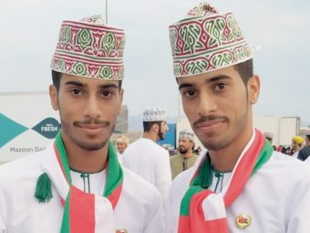 Thousands of twins meet in Oman!