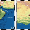 Another earthquake near Oman