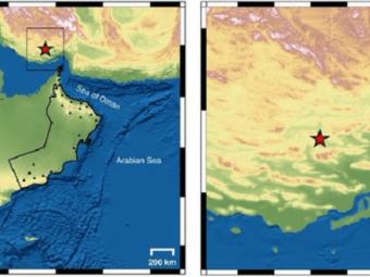 Another earthquake near Oman