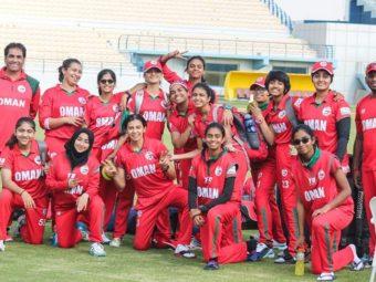 Cricket: Oman beat Germany.