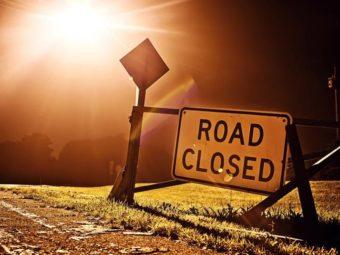 Baushar to Al Amerat Road Partially Closed.