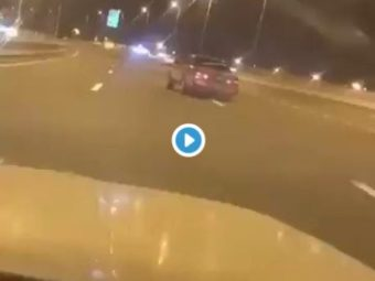 VIDEO: ROP Arrests Driver For Drifting On Highway