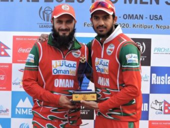 Cricket: Oman unbeaten in Nepal.