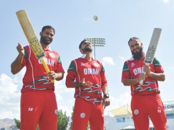 Represent Oman in international cricket!