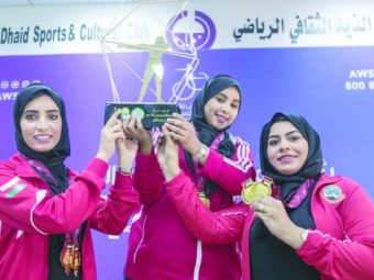 Omani shooters win 7 medals.