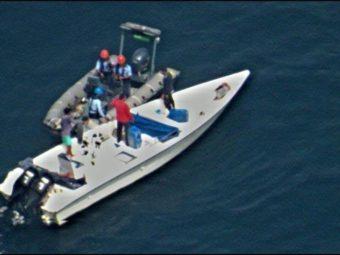 RAFO rescue five at sea