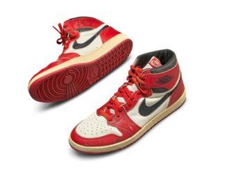 Michael Jordan's Shoes For Auction