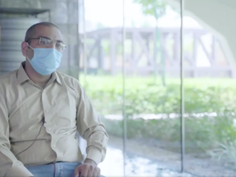 VIDEO: In powerful message, COVID-19 survivor urges people in Oman to get tested