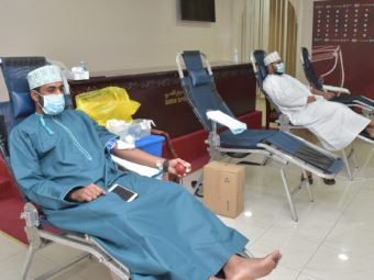 How plasma from Oman's recovered COVID-19 patients is helping those who are still sick