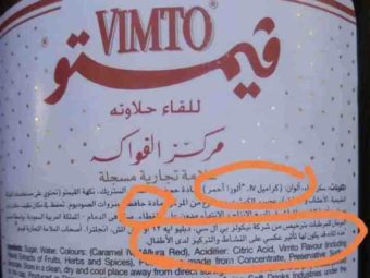 Vimto is safe to drink, confirms Government.