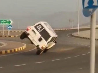 Stunt driver busted in Oman