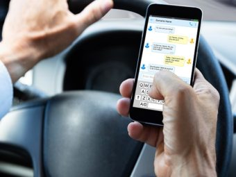 Using Mobile Phone While Driving Could Land You In Jail!